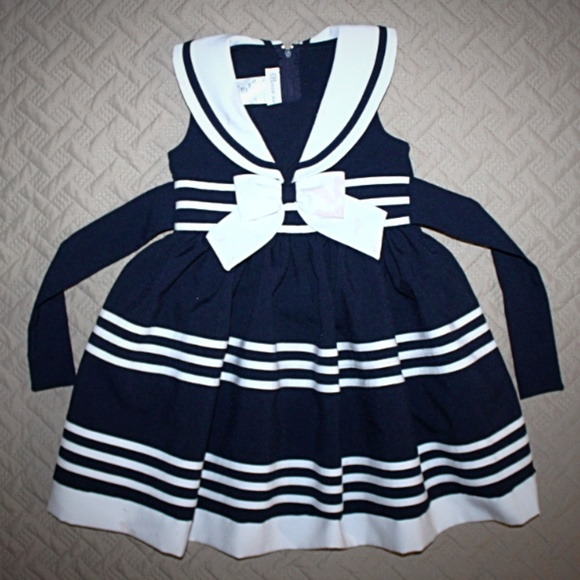 e77f7281cc8 Bonnie Jean Other - Bonnie Jean 4T Sailor's Dress